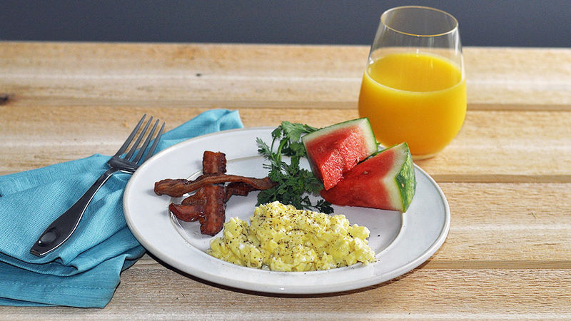 Creamy french style scrambled eggs recipe for French style scrambled eggs