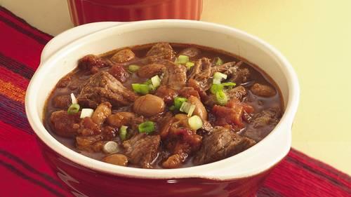 Slow Cooker Texas Two Meat Chili Recipe Bettycrocker Com
