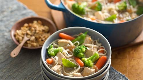 One Pot Gluten Free Asian Chicken And Noodles