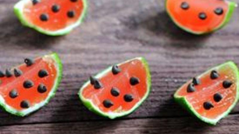 Watermelon Margarita Jello Shots