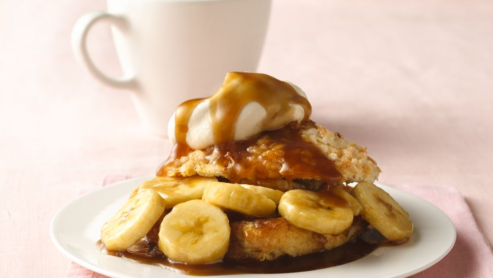 Bananas Foster Biscuit Shortcakes Recipe - Pillsbury.com