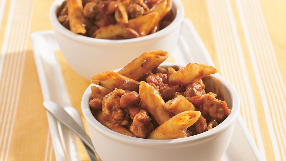 Sausage and Pasta Bake