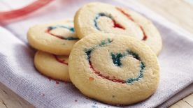 Red, White and Blue Cookies
