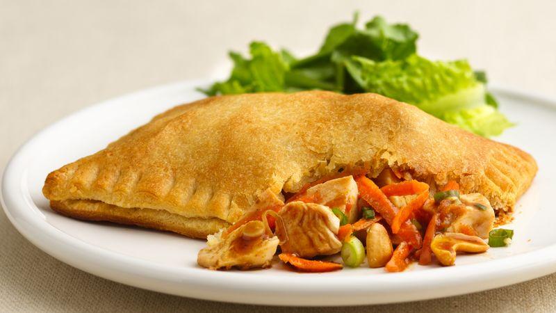Spicy Cashew-Chicken Bundles