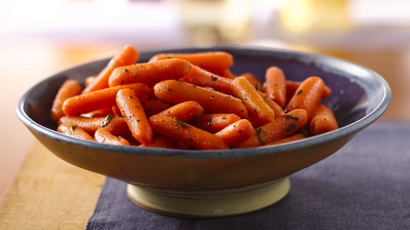 Pickled Tarragon Baby Carrots