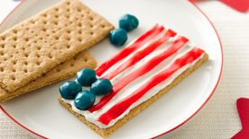 Fruity Stars and Stripes Flag