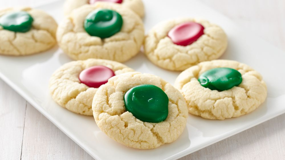 3-Ingredient Holiday Thumbprints