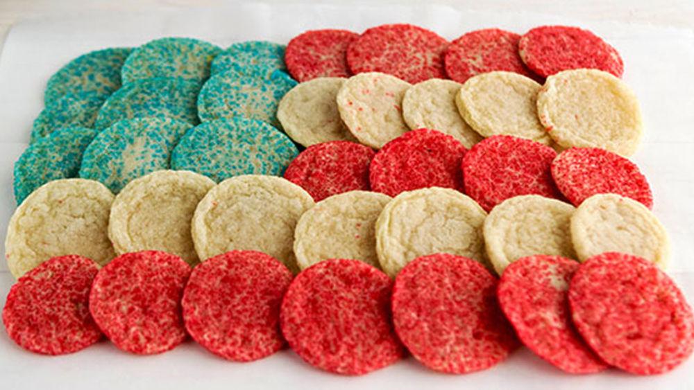 Pull-Apart Cookie Flag