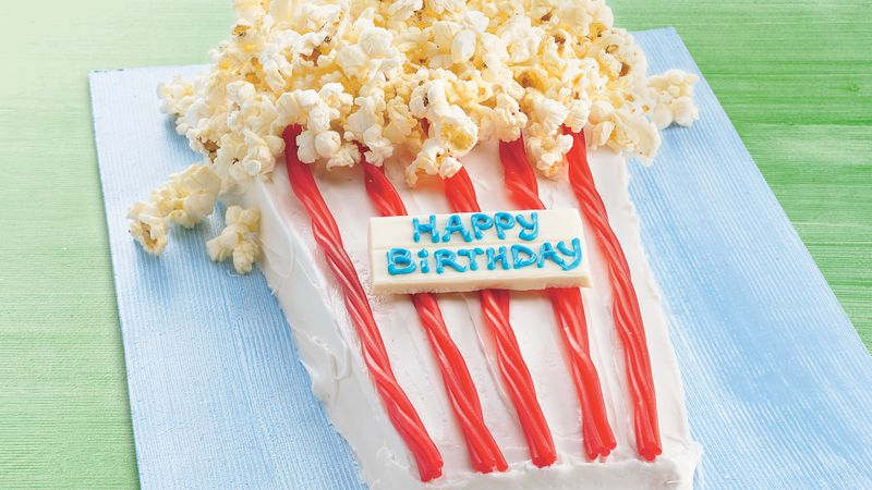 Terrific Poppin Up Happy Birthday Cake Recipe Bettycrocker Com Funny Birthday Cards Online Fluifree Goldxyz