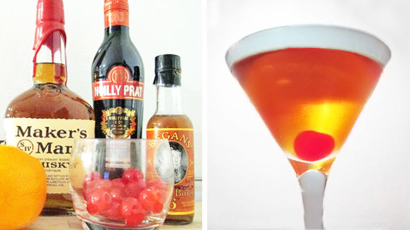 Manhattan Cocktail Recipe Tablespoon Com
