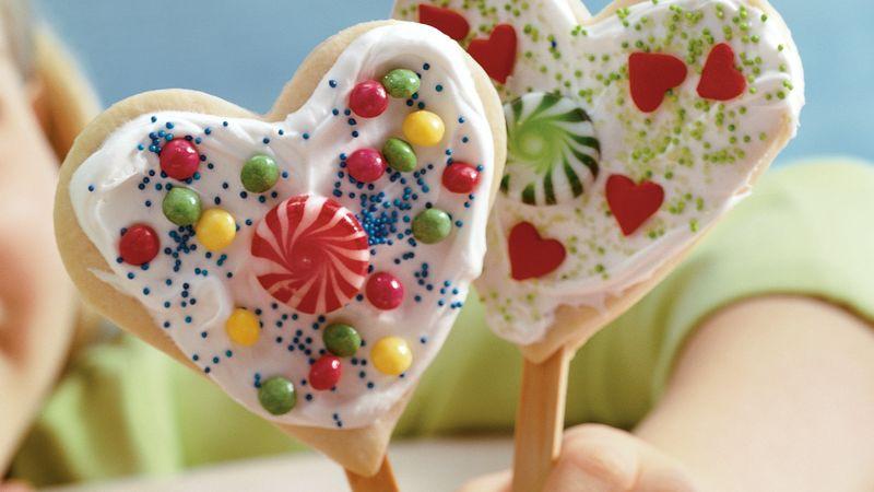 """""""I Love You"""" Cookies"""