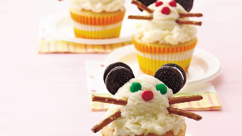 Mr. Mouse Party Cupcakes