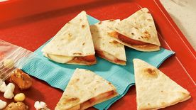 Fruity Peanut Butter Quesadillas