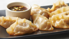 Beef and Kimchi Pot Stickers