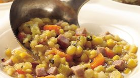 Slow-Cooker Split Pea and Ham Chowder