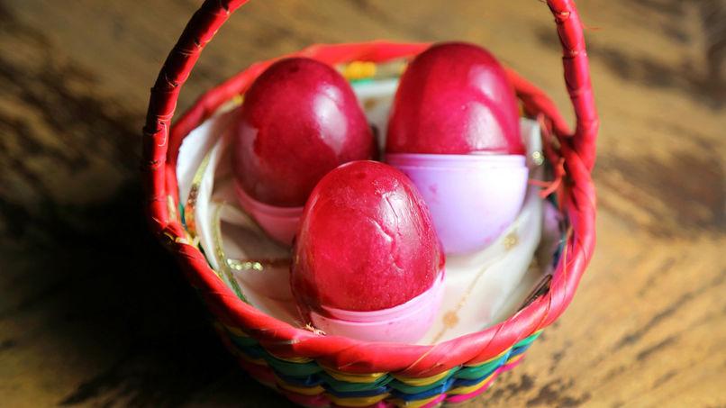 Paletas de Huevos de Pascua