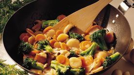 Stir-Fried Broccoli and Carrots