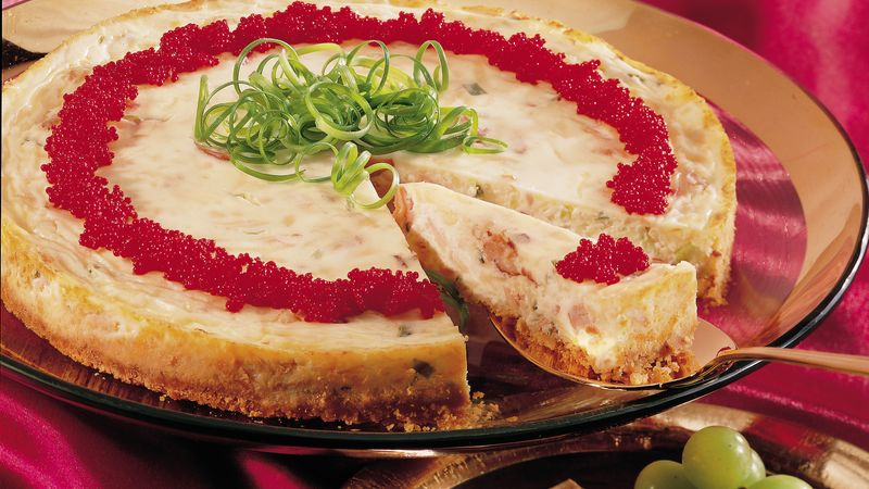 Smoked Salmon Cheesecake