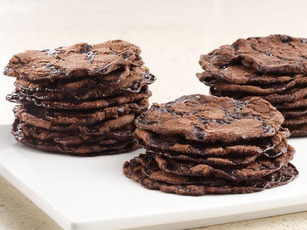 double fudge brownie crisps