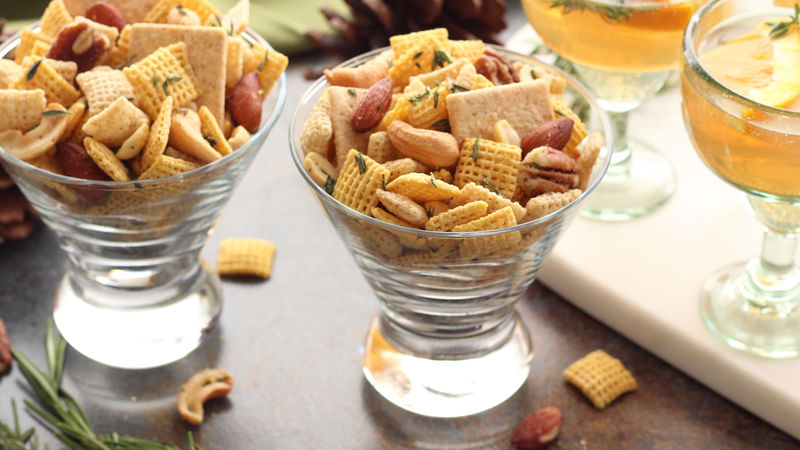 Rosemary and Thyme Cocktail Chex™ Party Mix