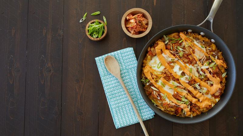 Korean Cheeseburger Macaroni