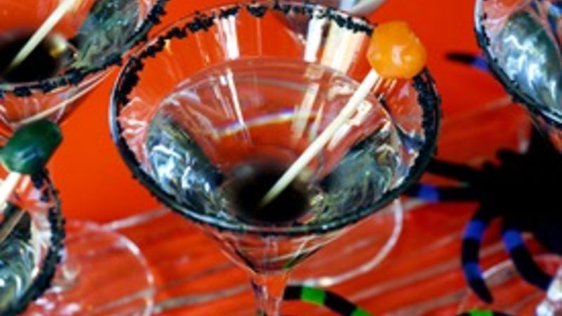 Black Gumball Cocktail