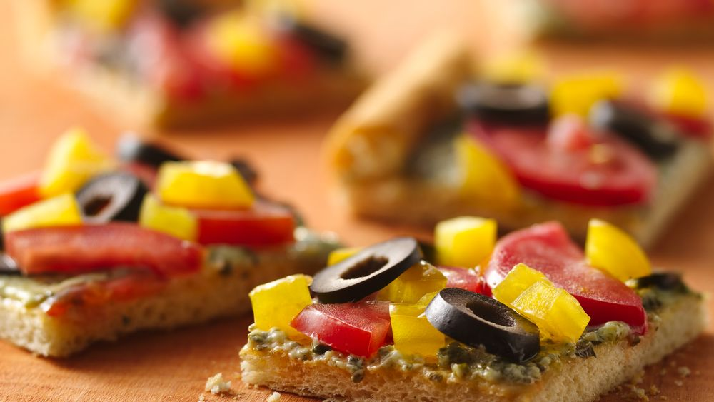 Crescent Party Pesto Squares