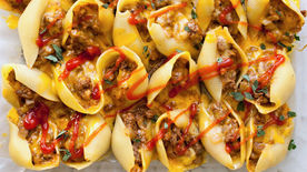 Cheeseburger Stuffed Shells