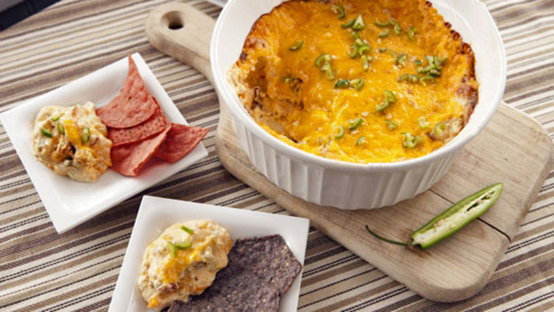Jalapeño and Bacon Popper Dip