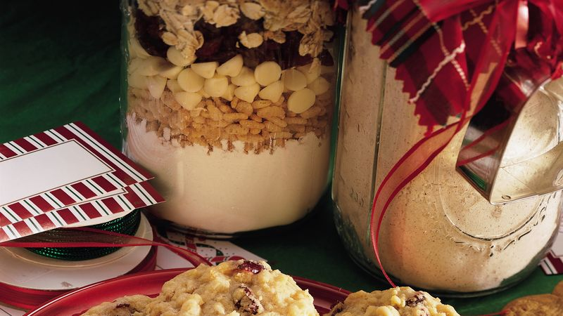 Cranberry-White Chip-Oatmeal Cookie Mix