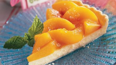 Amaretto Peach Tart