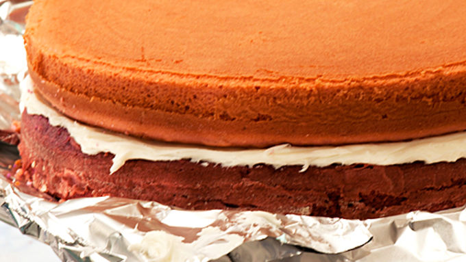 Purple-rific Layer Cake Recipe - Tablespoon.com
