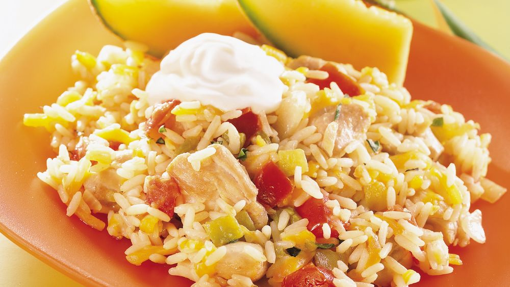 Chicken and Rice Skillet Dinner