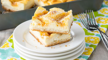 Lemon-Cream Cheese Cookie Bars