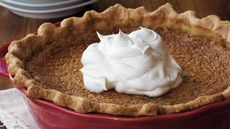 Bourbon-Sugar Pie