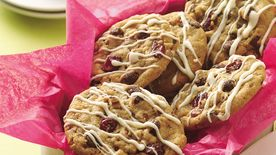 Double-Chocolate Cranberry Cookies