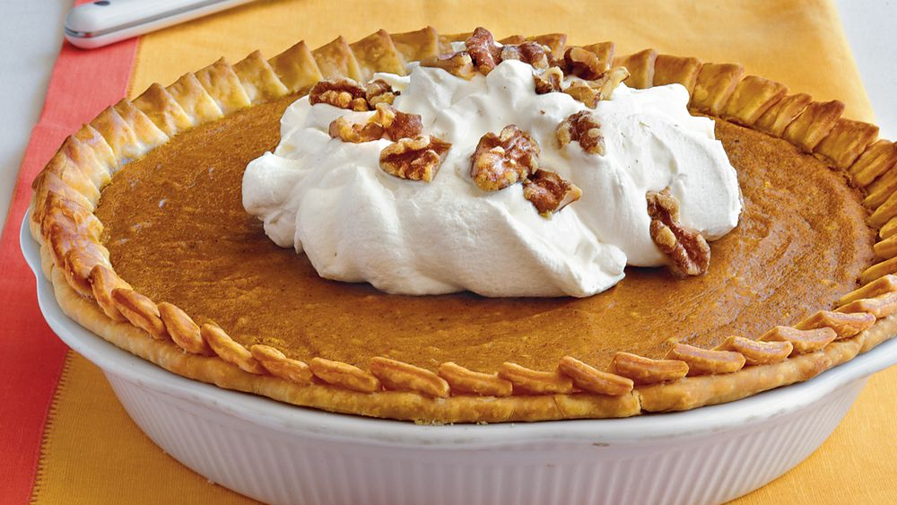 Luscious Layered Pumpkin Pie