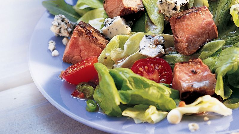 Beef and Blue Cheese Salad