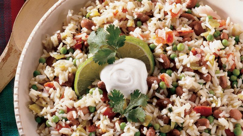 Nicaraguan Red Beans and Rice