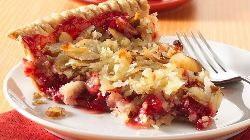 Almond Macaroon Cherry Pie Recipe Pillsbury Com
