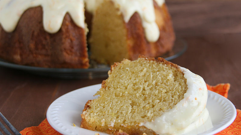 Orange Yogurt Bundt Cake