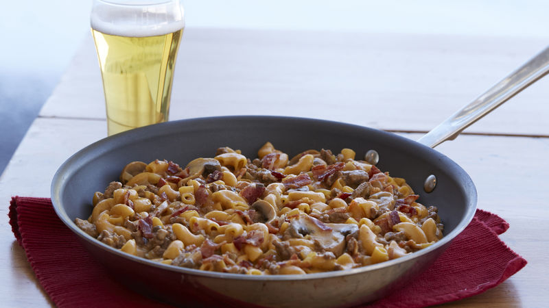 Beer Bacon Cheeseburger Macaroni