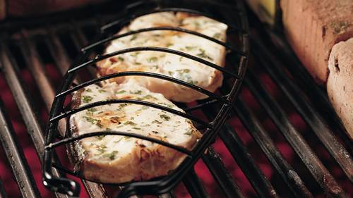 Grilled Halibut with Lime and Cilantro image