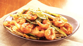 Shrimp-Vegetable Noodle Stir-Fry