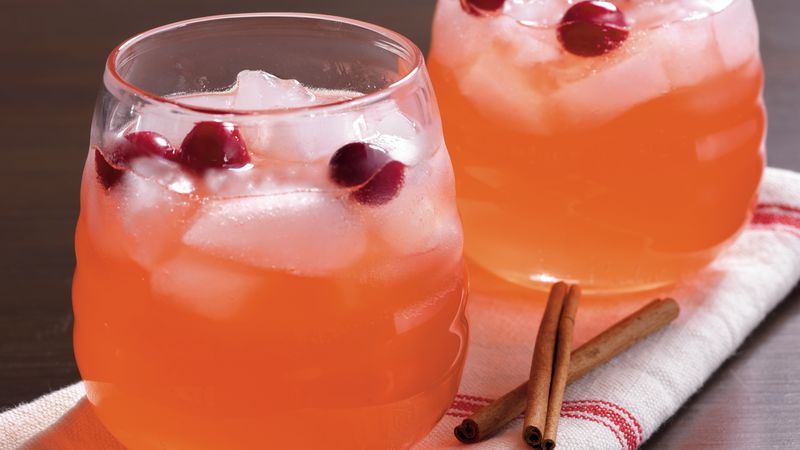 Cinnamon Cranberry Punch Recipe Bettycrocker Com