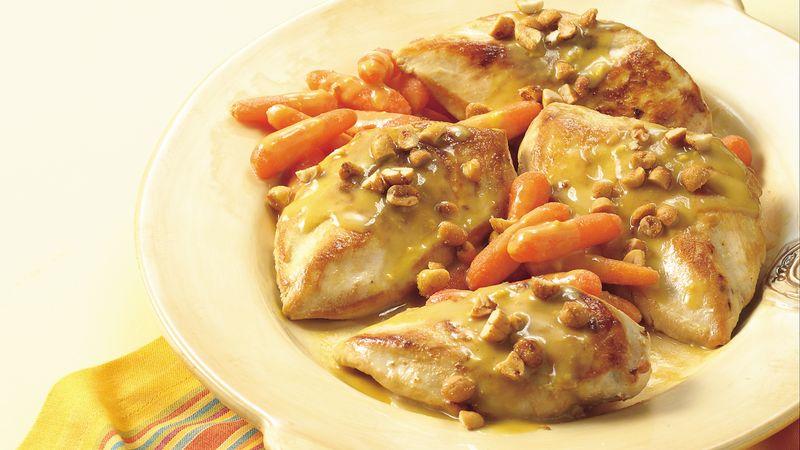Honey-Mustard Chicken and Carrots