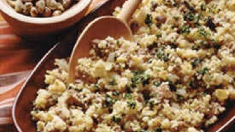 Curry Sausage Couscous
