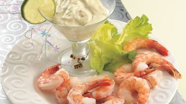 Zesty Margarita Shrimp Cocktail