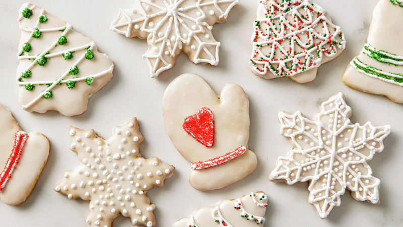 Christmas Butter Cookie Cutouts Recipe - BettyCrocker.com