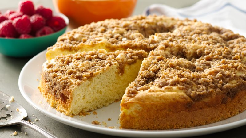 Easy Cinnamon Brown Sugar Coffee Cake Recipe